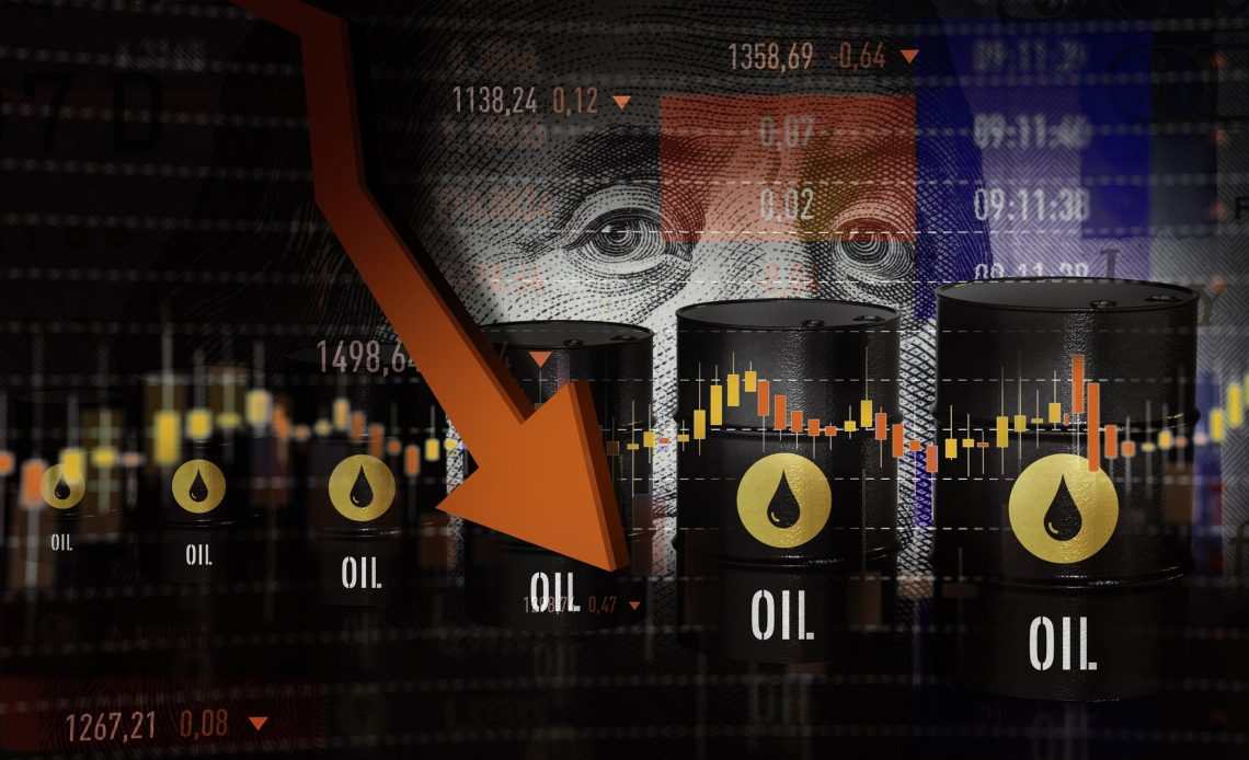 oil prices going down