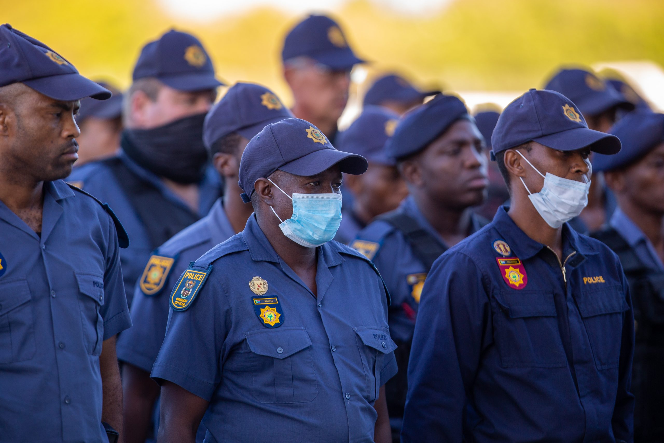Police Ministry and SAPS management visit operations on Day Two of National Lockdown