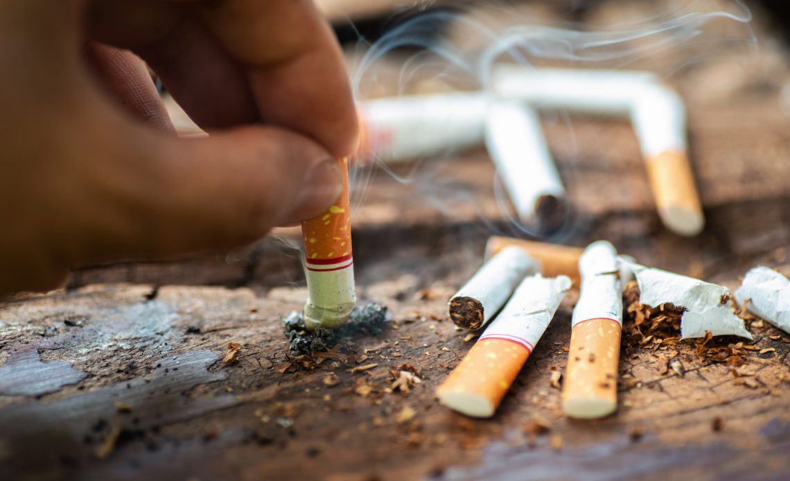 4 minutes - that is how long it took to find banned cigarettes